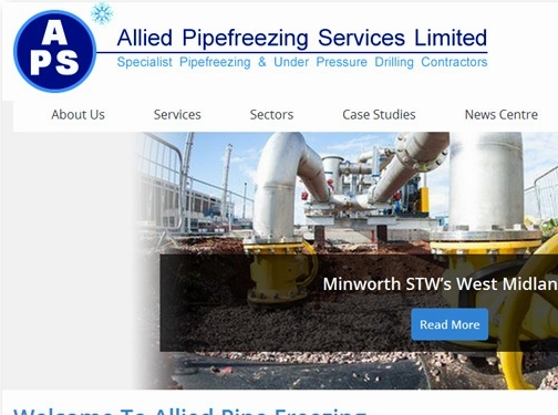 https://www.alliedpipefreezing.co.uk/ website
