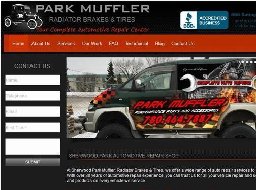 https://www.parkmuffler.com/ website