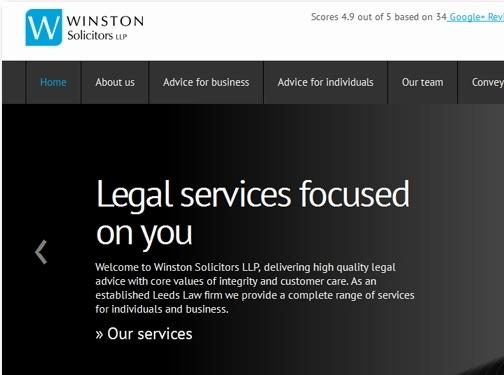 https://www.winstonsolicitors.co.uk/ website