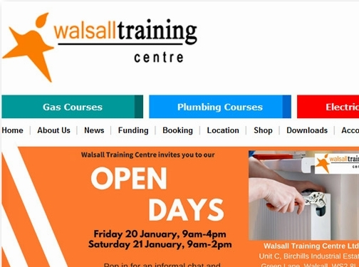 http://www.walsalltraining.com/ website