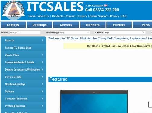 http://www.itcsales.co.uk/ website