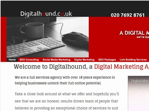 https://www.digitalhound.co.uk/ website