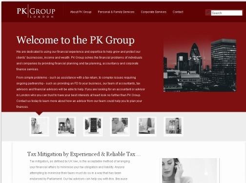 https://www.pkgroup.co.uk/ website