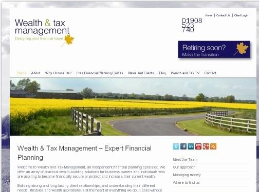 https://wealthandtax.co.uk/ website