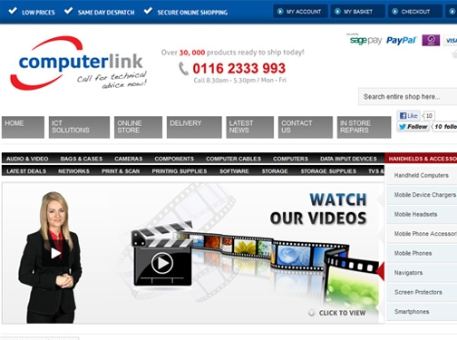 http://www.computerlink.uk/ website