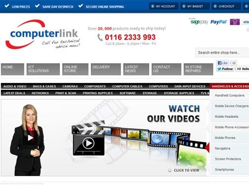 https://www.computerlink.uk/ website