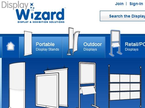 https://www.displaywizard.co.uk/ website