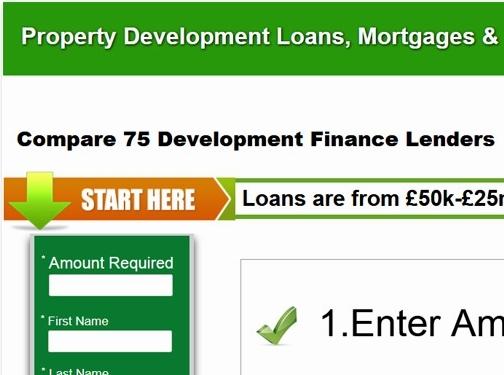 https://www.uk-development-finance.co.uk/ website