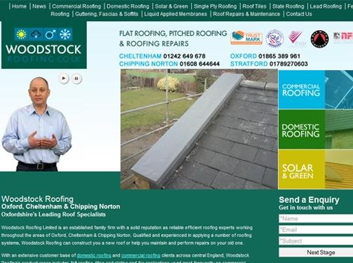 https://www.woodstockroofing.co.uk/ website