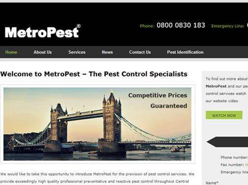 https://metropest.co.uk/ website