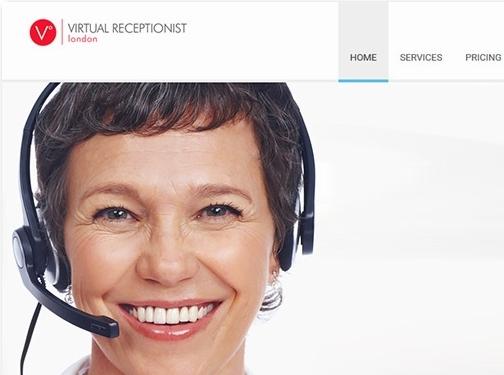 https://www.virtualreceptionistlondon.co.uk/ website