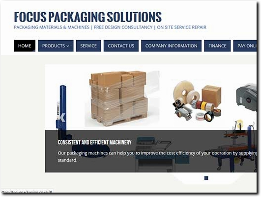 https://focuspackaging.co.uk/ website