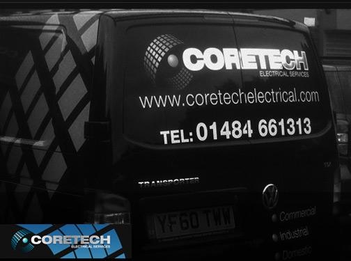 https://www.coretechelectrical.co.uk/ website