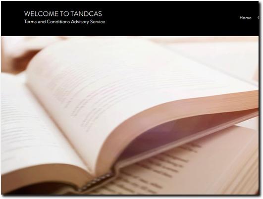 https://www.tandcas.co.uk/ website