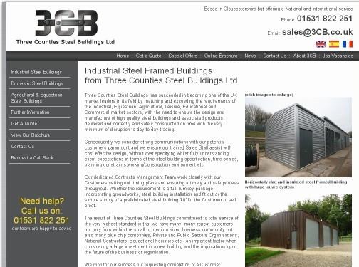 https://www.3cb.co.uk/industrial-steel-buildings.html website