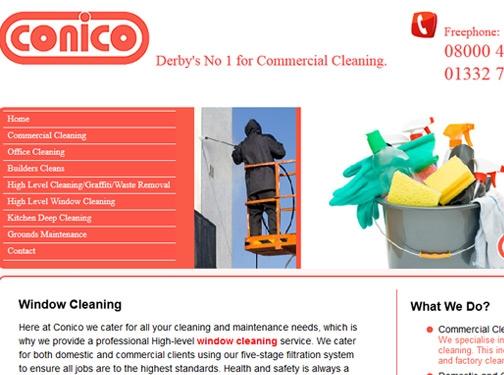 https://www.conicocleaning.co.uk/ website