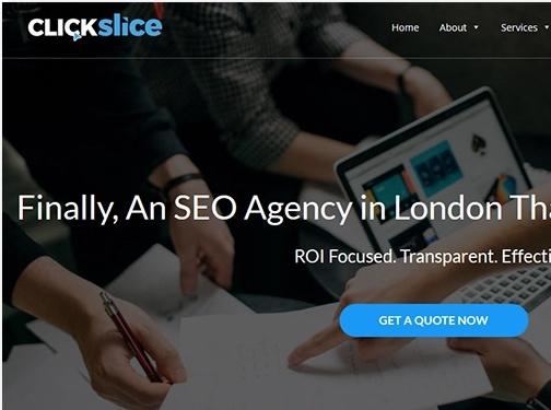 https://www.clickslice.co.uk/ website