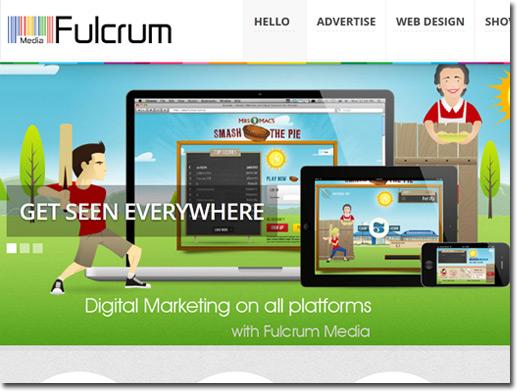 http://fulcrummedia.co.uk website