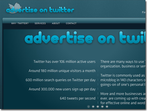 http://www.advertiseontwitter.co.uk website