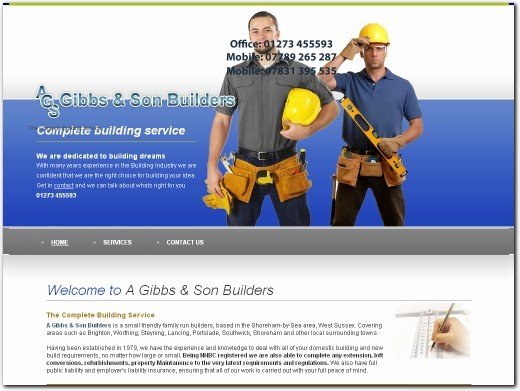 http://www.gibbsandsonbuilders.co.uk website