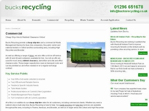 https://www.bucksrecycling.co.uk/ website