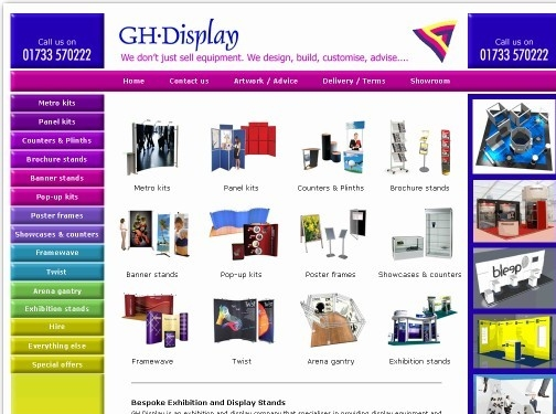 https://www.ghdisplay.co.uk/ website