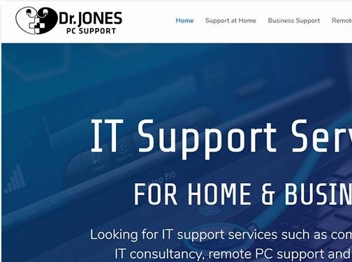 https://www.drjonespcs.co.uk/ website