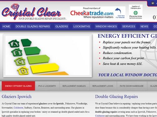 https://www.crystalclearmaintenance.co.uk/glaziers-colchester/ website